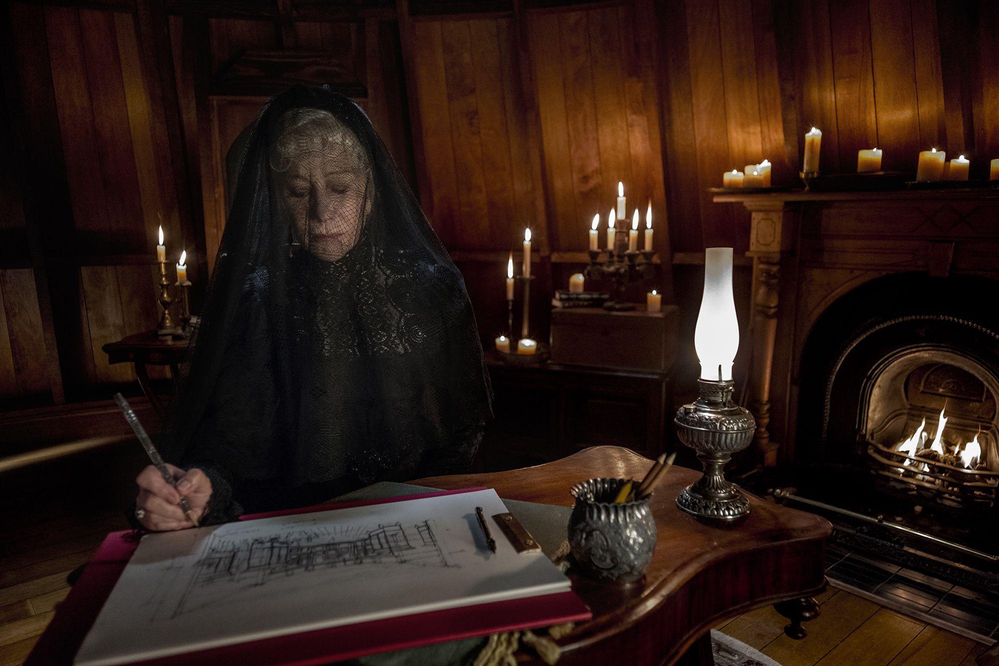 Go Behind The Scenes of Helen Mirren's 'Winchester'