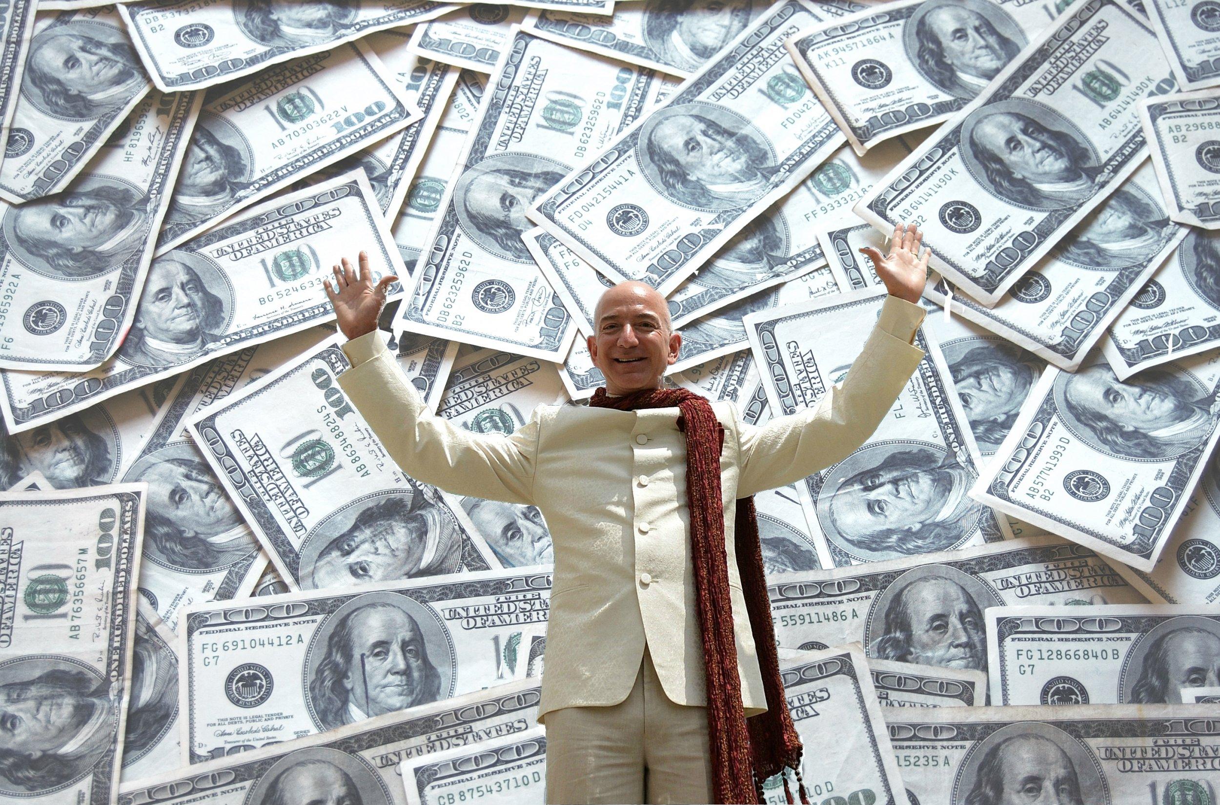 Jeff Bezos Net Worth Rich