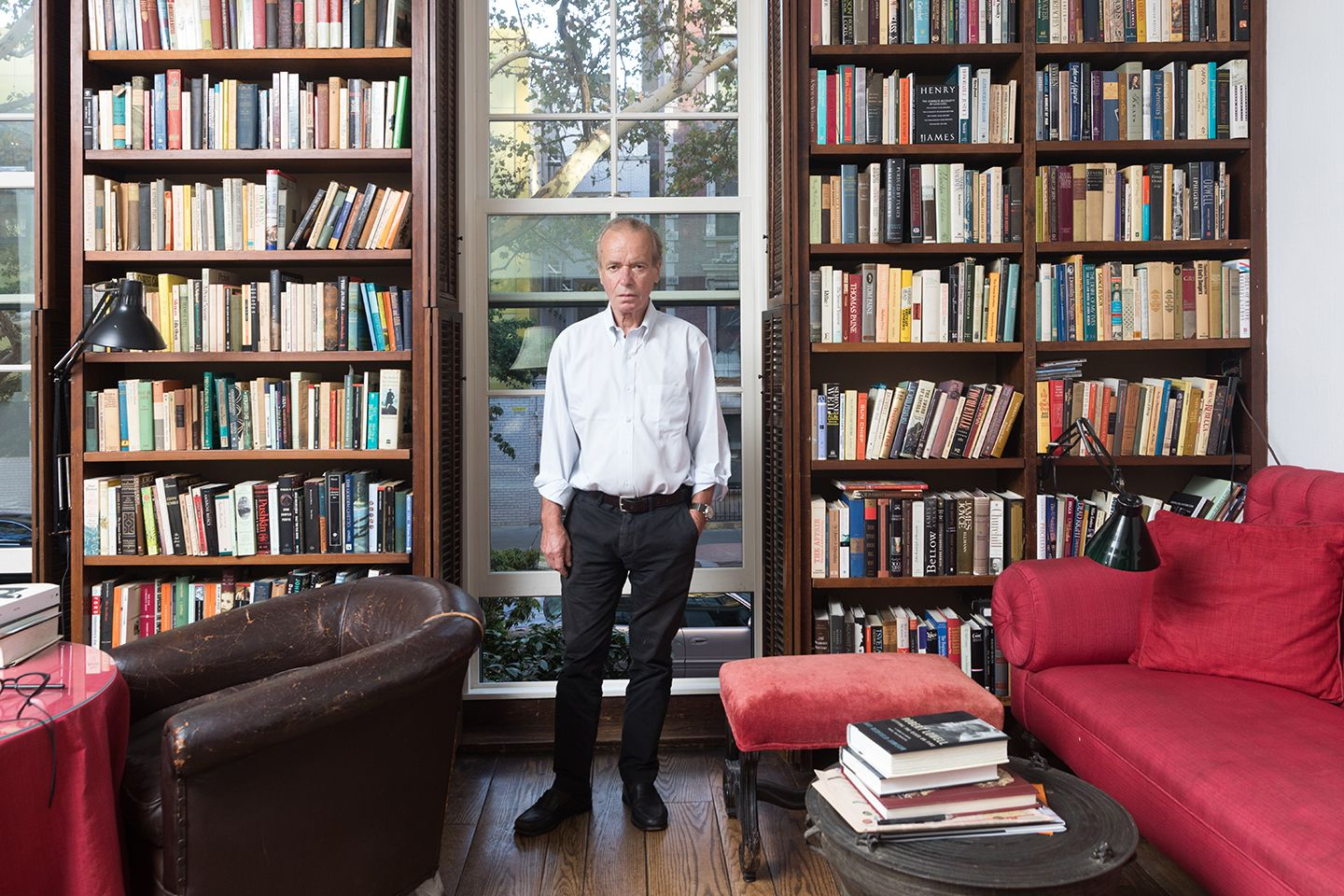 The Booker Prize Winning Author In His New York City Apartment Last September Christopher Lane