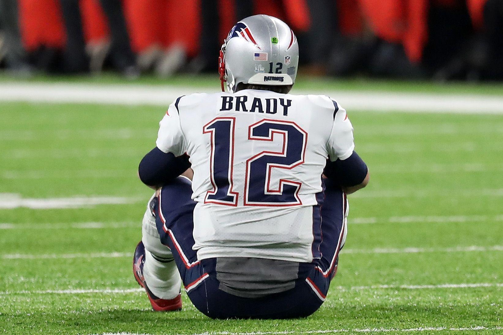 Tom Brady at Super Bowl LII