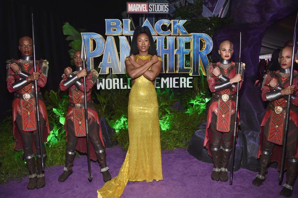 Sydelle Noel black panther