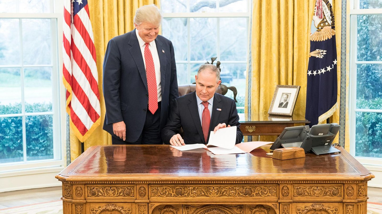 How the EPA's Scott Pruitt Became the Most Dangerous Member