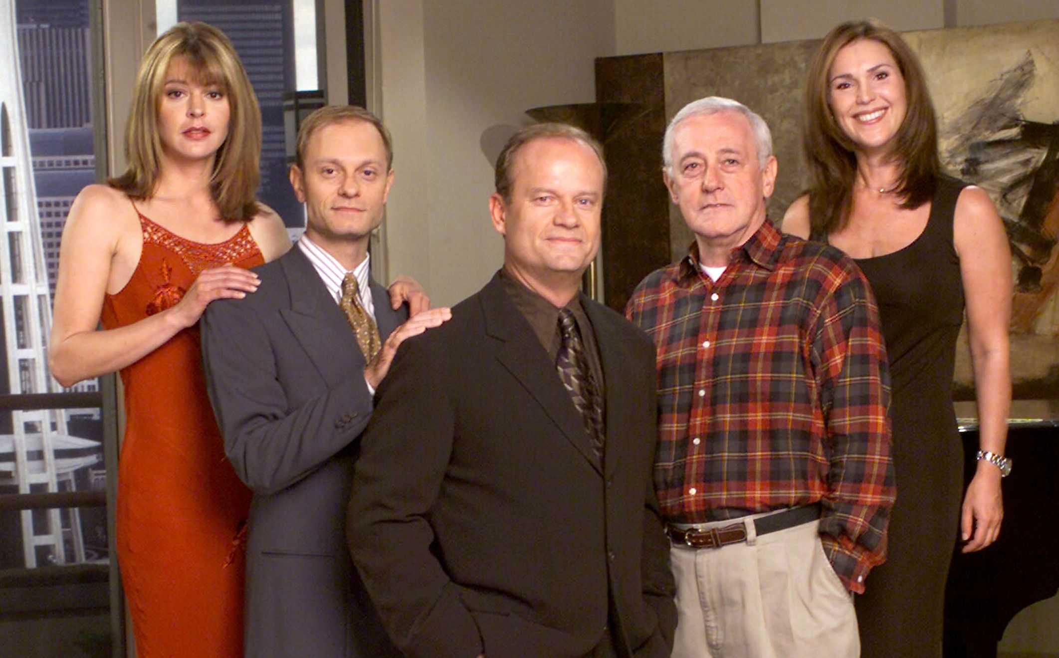John Mahoney as Martin Crane in 'Frasier'
