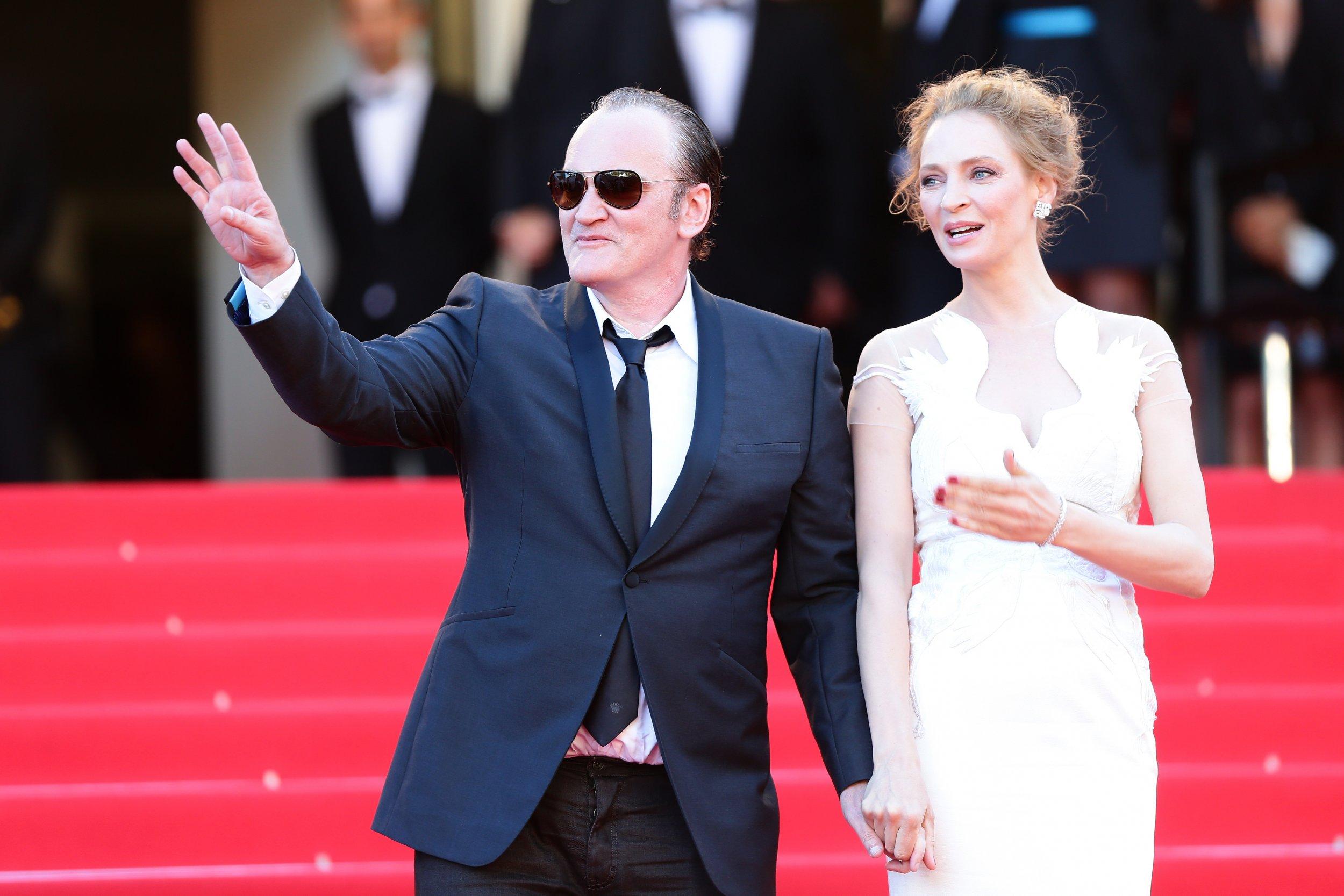 Quentin Tarantino on choking, spitting on Uma Thurman
