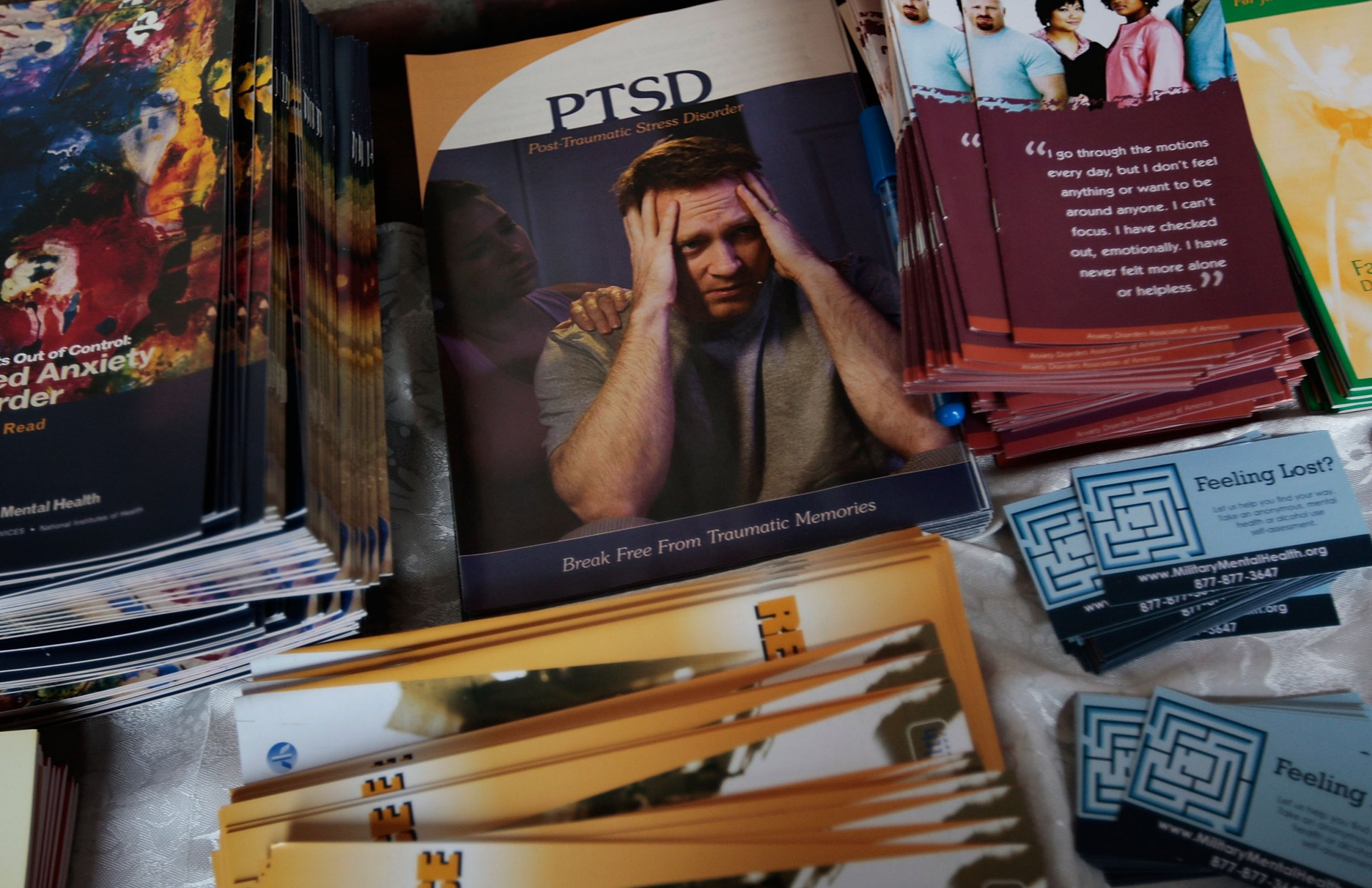 PTSD pamphlets