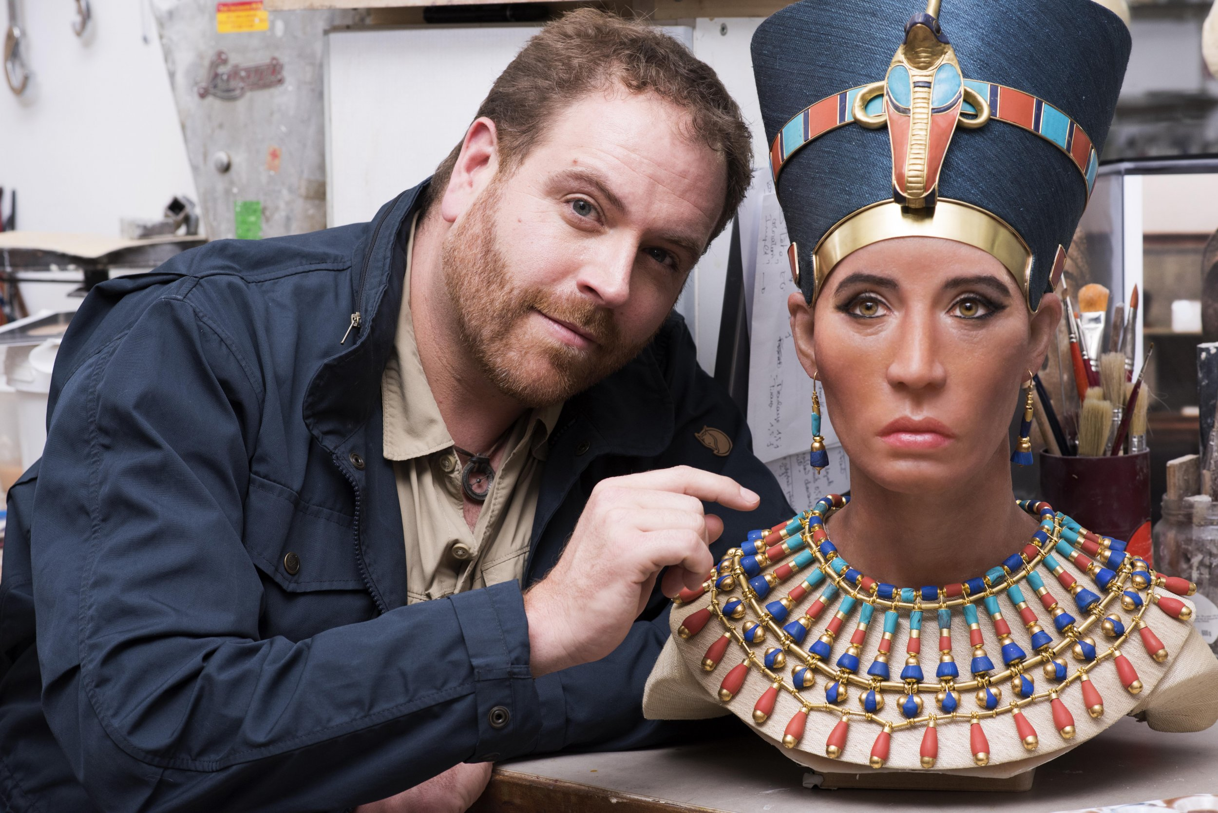 Ancient Egypt Mummy Of Queen Nefertiti Brought To Life -6703