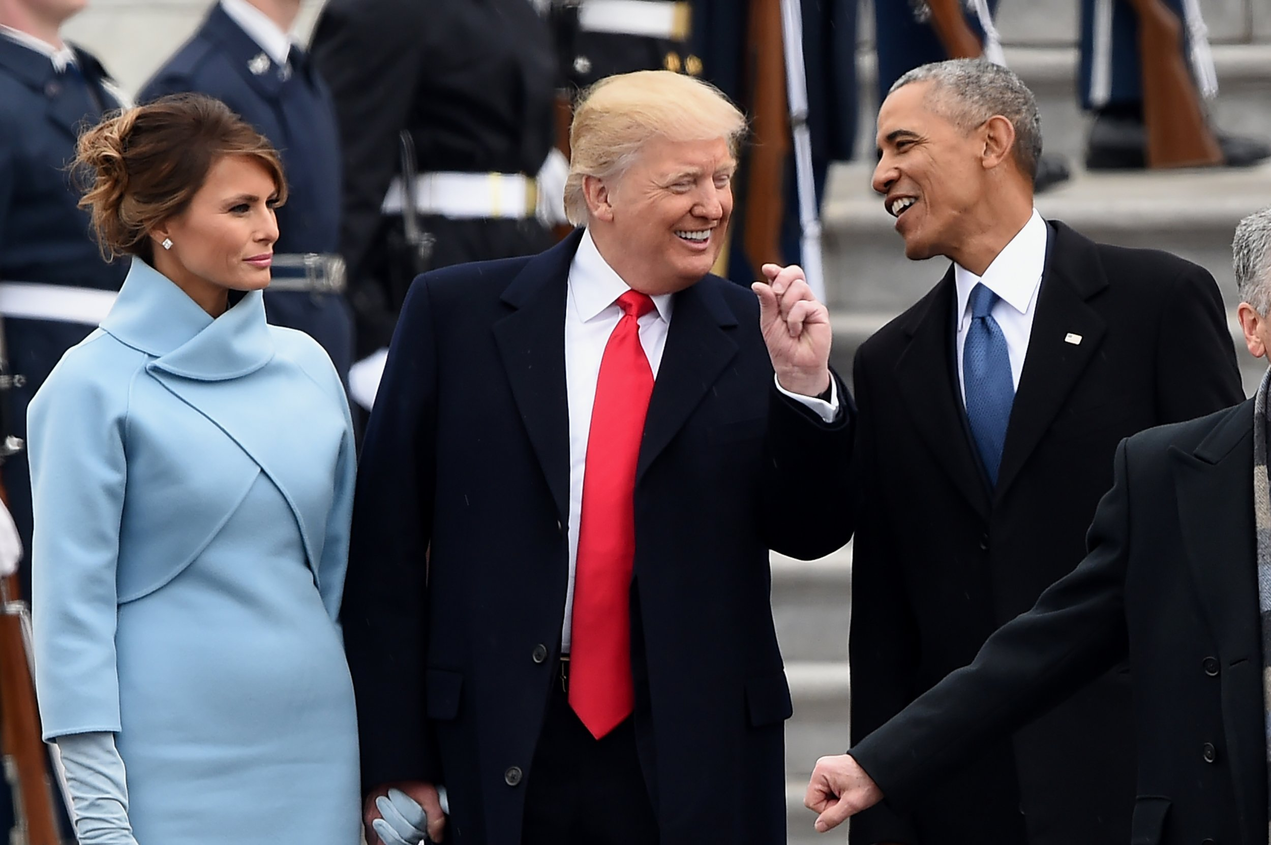 Barack Obama Porn melania trump follows her husband's least favorite person on