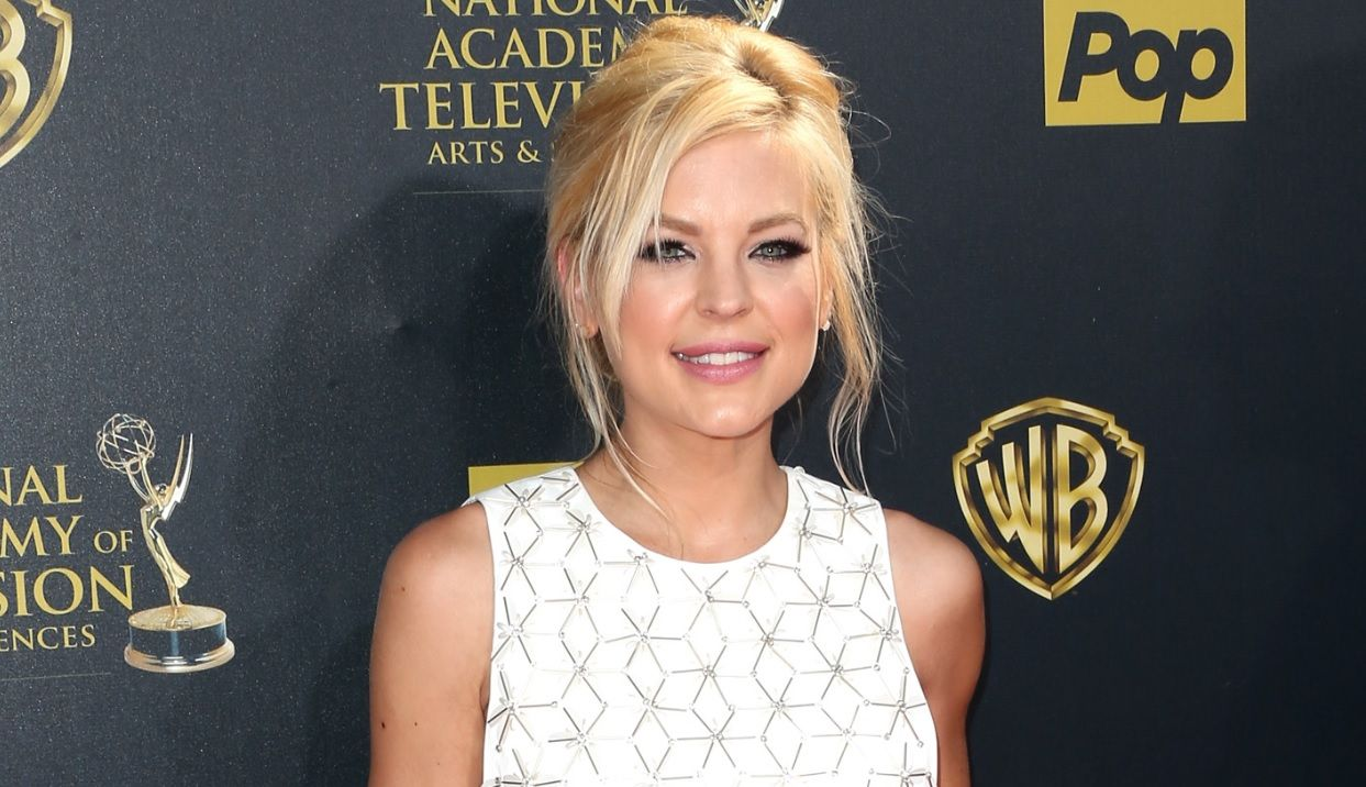 is 'general hospital' star kirsten storms pregnant? actress