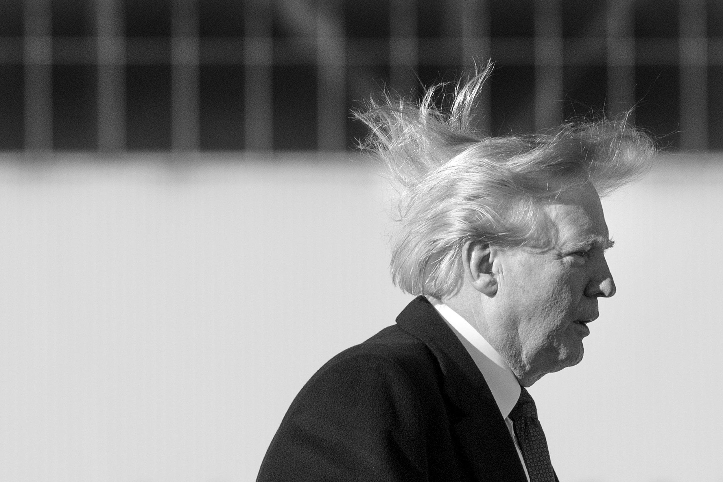 Donald Trump's hair secrets exposed