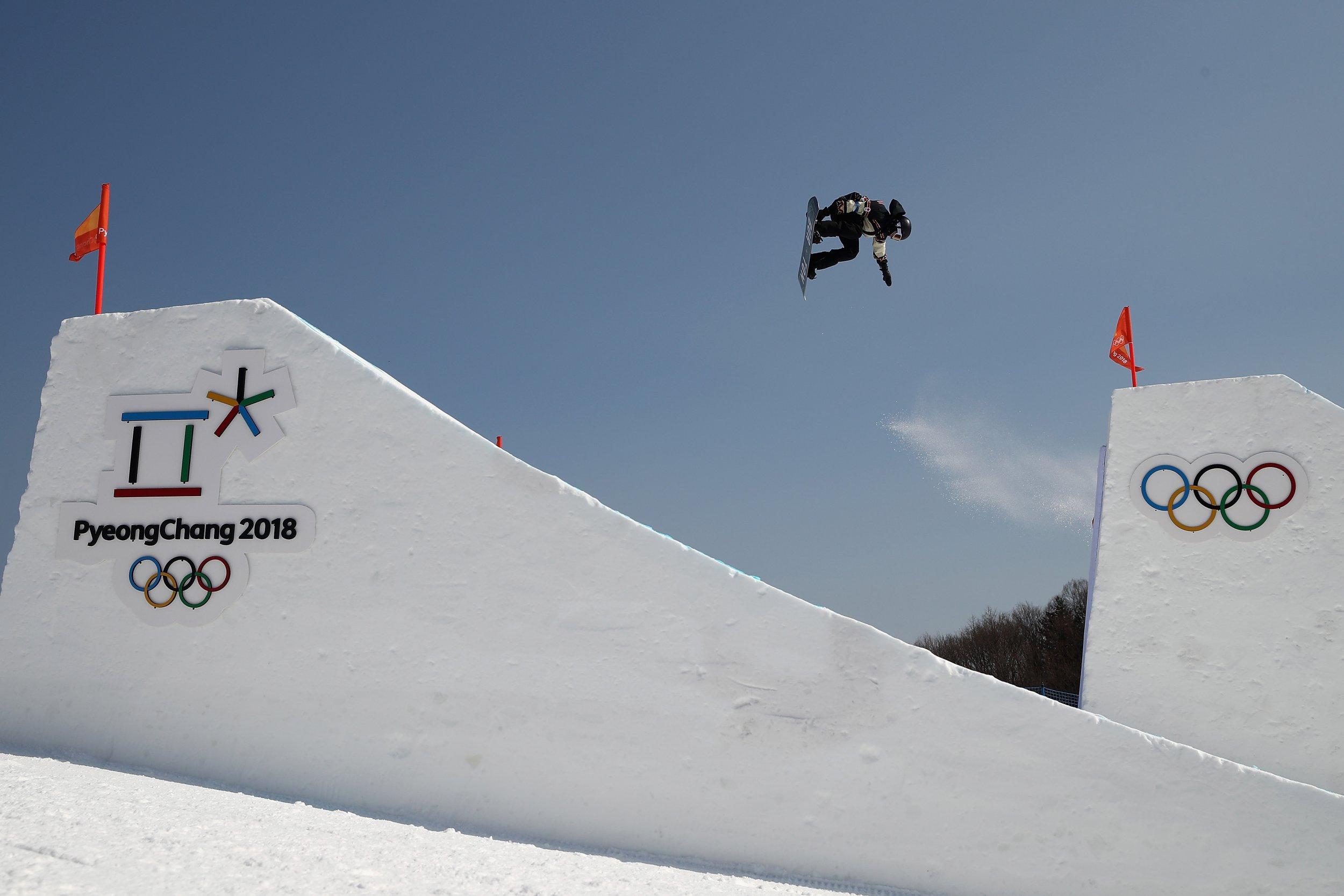 slopestyle training olympics