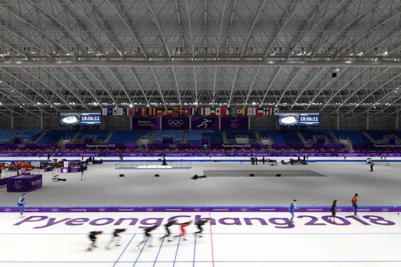 skaters warmup olympics