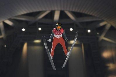 ski jumper flu