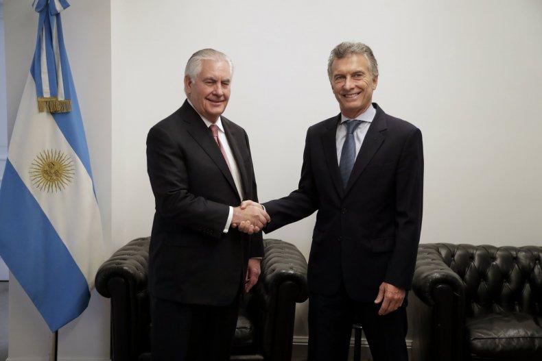 Tillerson-Macri