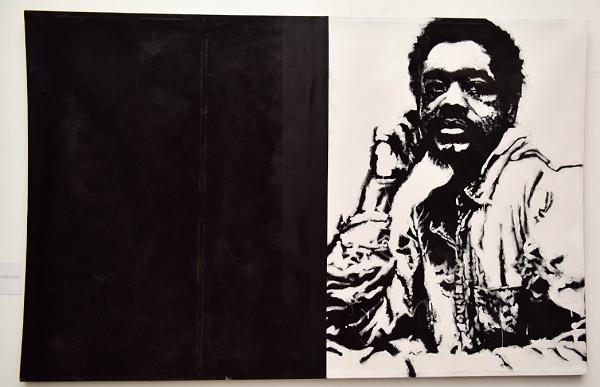 Sophia Dawson's 'Untitled Bobby Seale' portriat