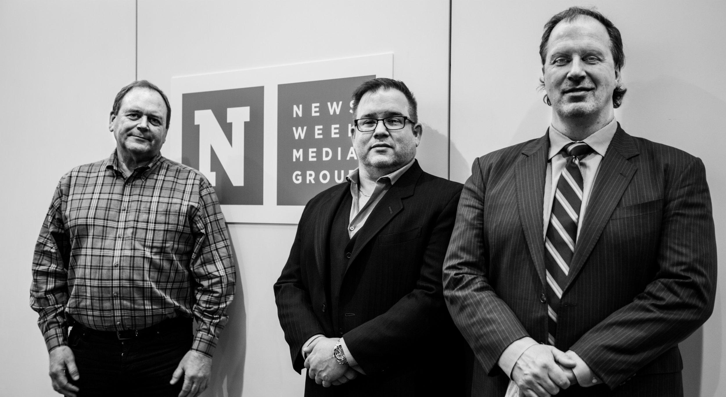 Impact Wrestling executives Ed Nordholm, Scott D'Amore and Don Callis