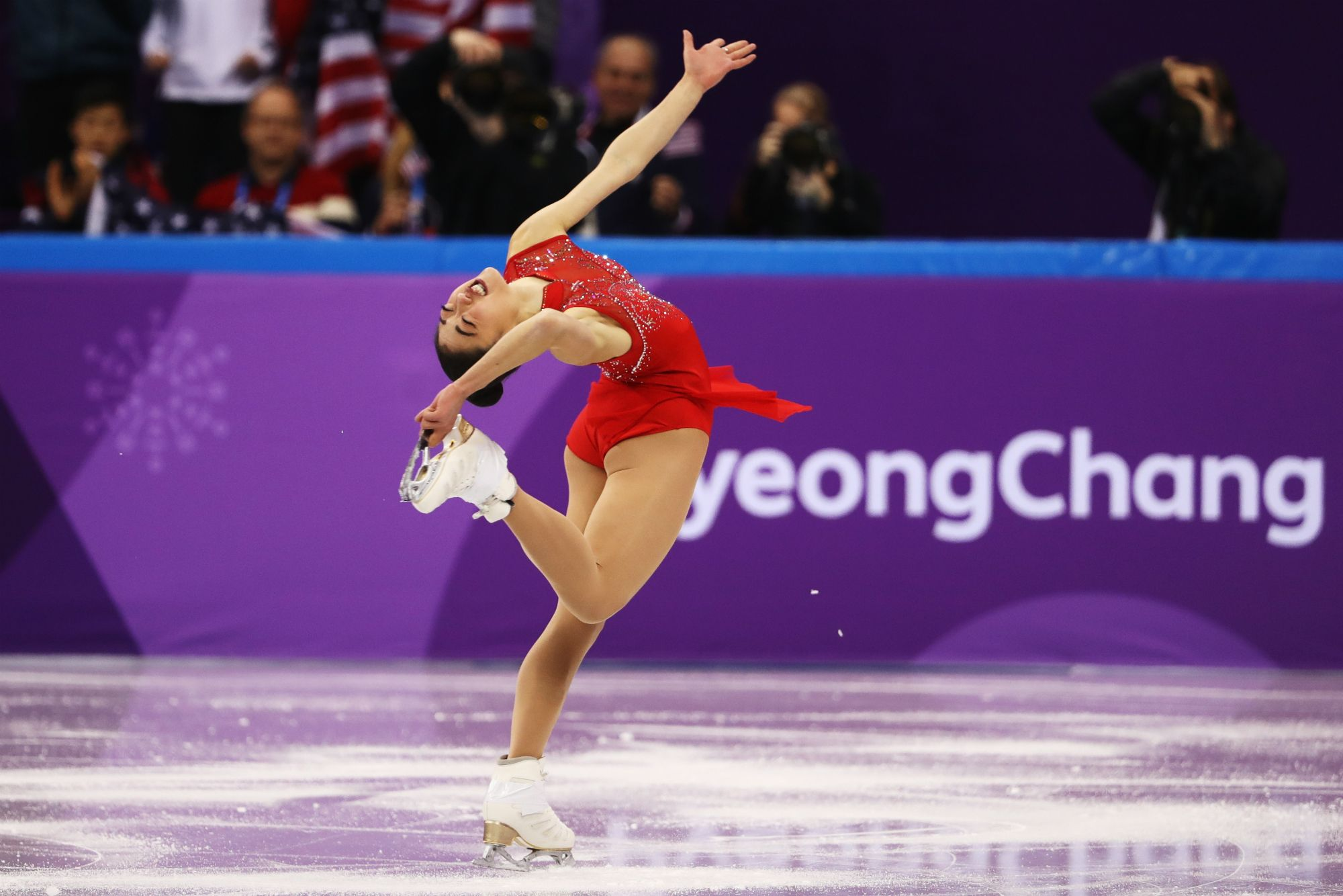 Mirai Nagasu hits triple axel at Olympics