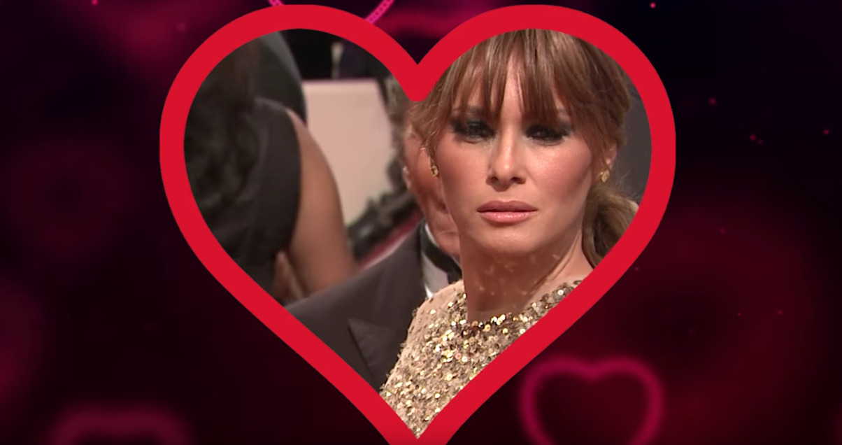 Melania's Valentine's Day message from Trump