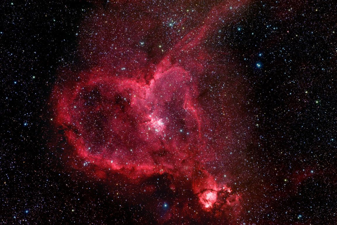 Roses Hearts And Colliding Stars The Best Romantic Space