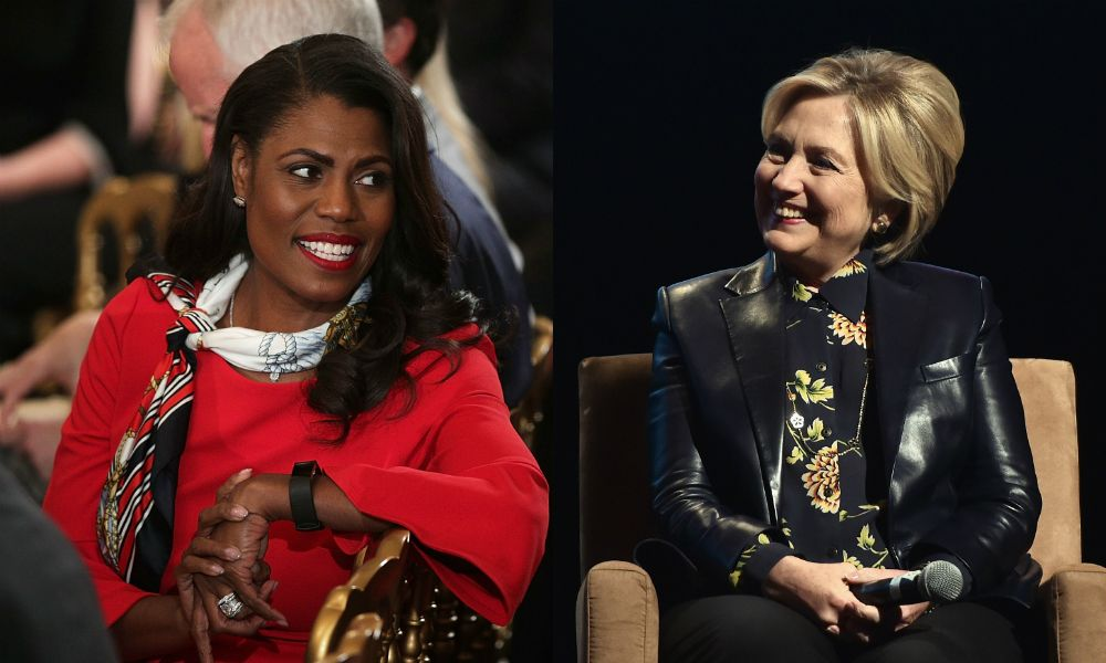 Omarosa praises Hillary Clinton on 'Celebrity Big Brother'