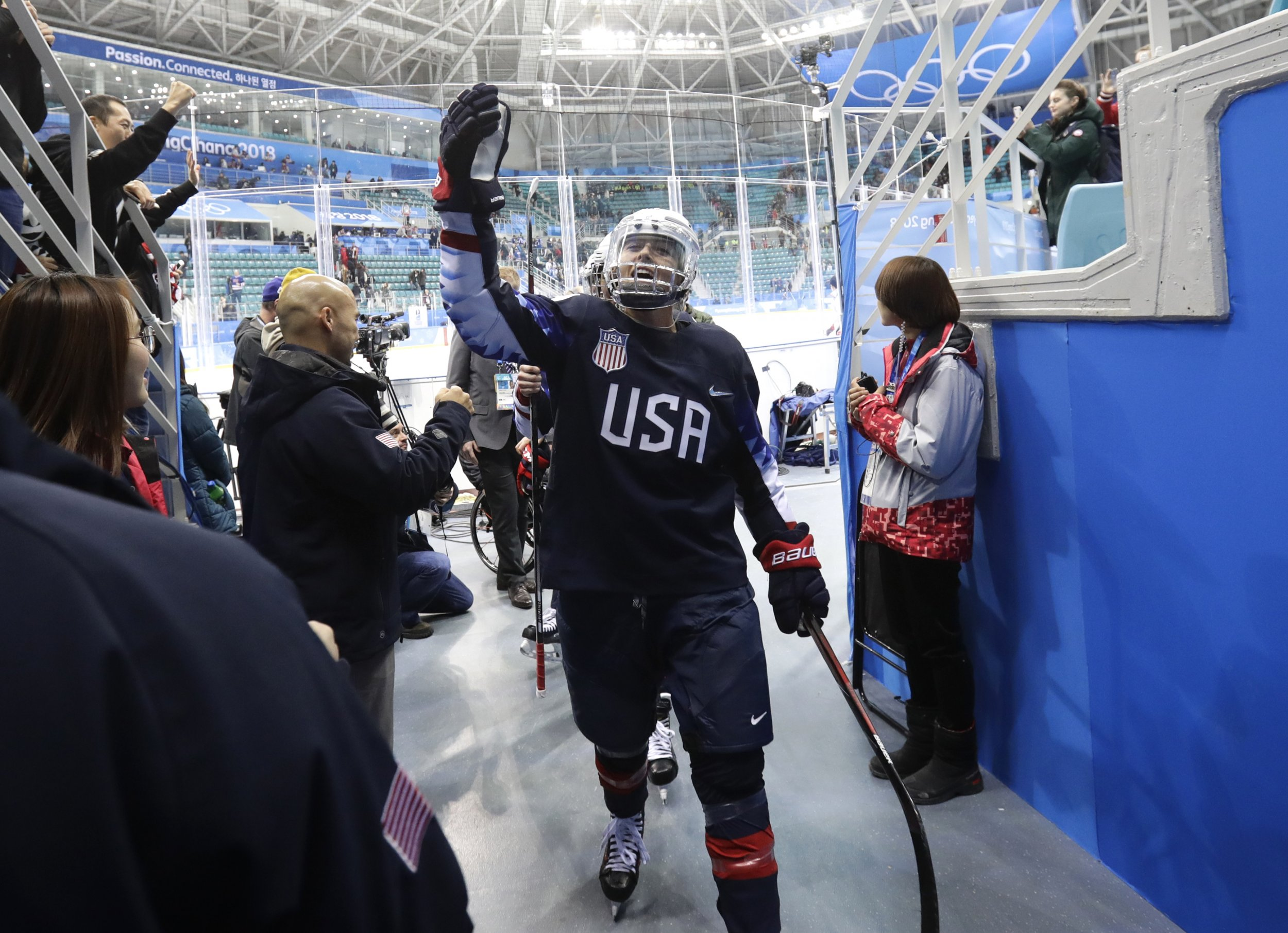 Gigi Marvin US ice hockey 2018 Winter Olympics