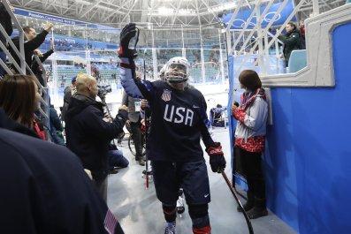 Gigi Marvin US ice hockey 2018 Winter Olympics