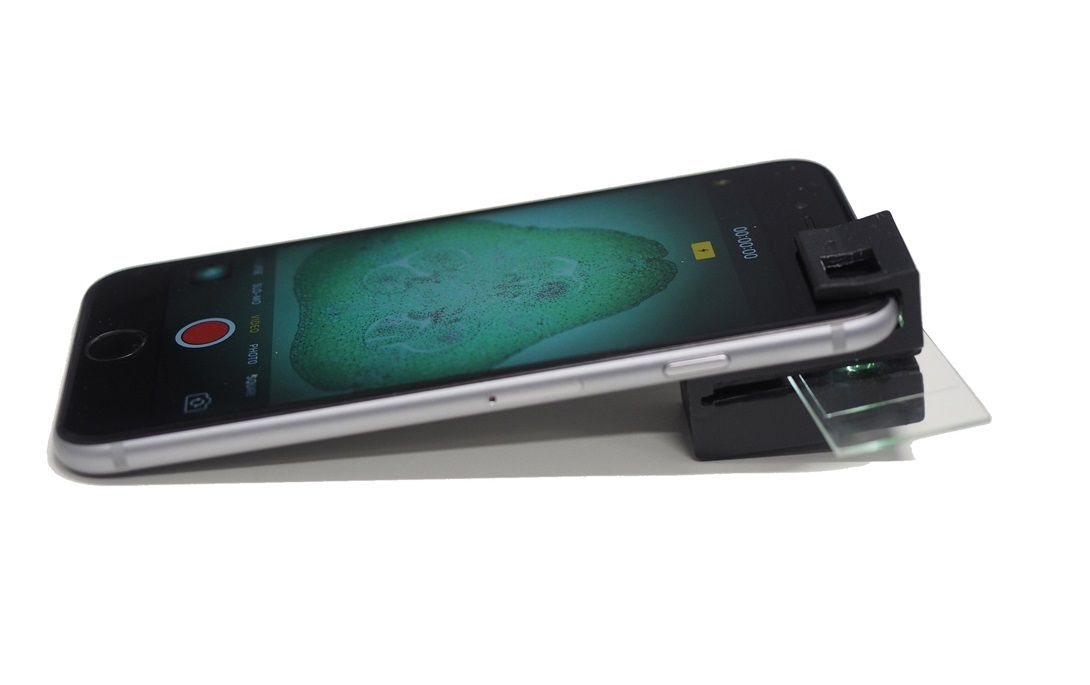 smartphone microscope 3D printing research