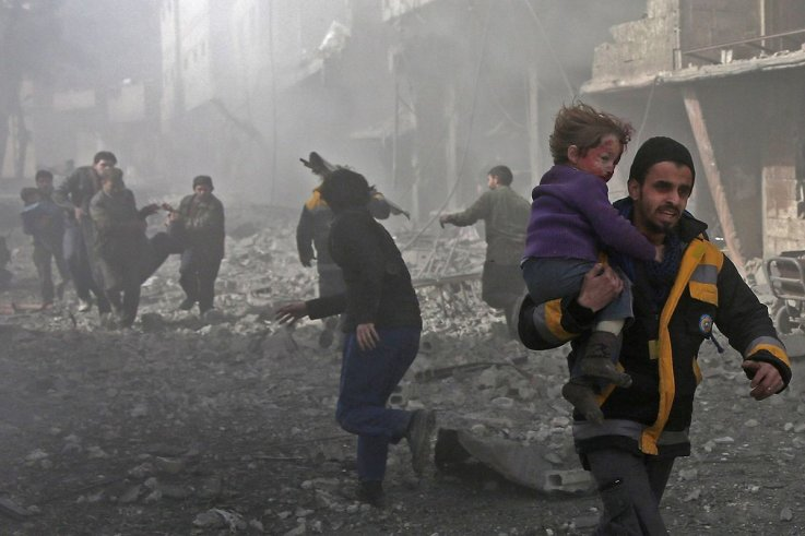 No Words For Horrors of Syria