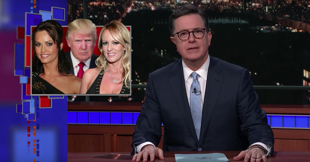 Donald Trump's alleged affairs mocked