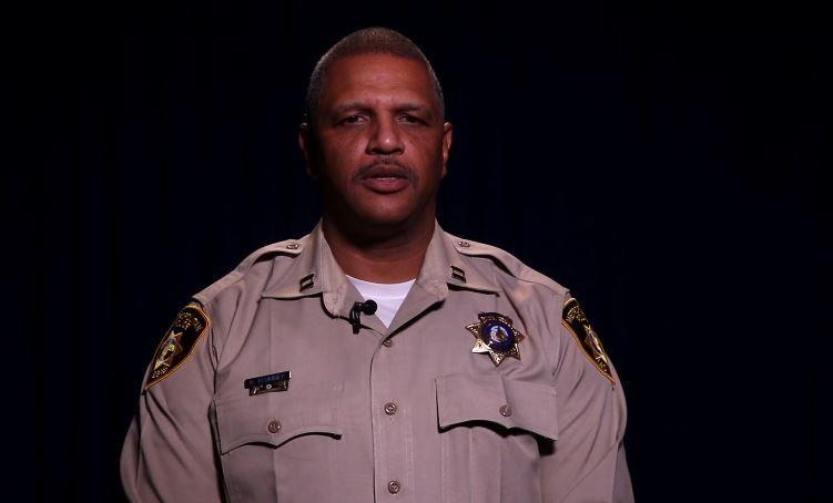 Capt. Robert Plummer of Las Vegas Metropolitan Police Department
