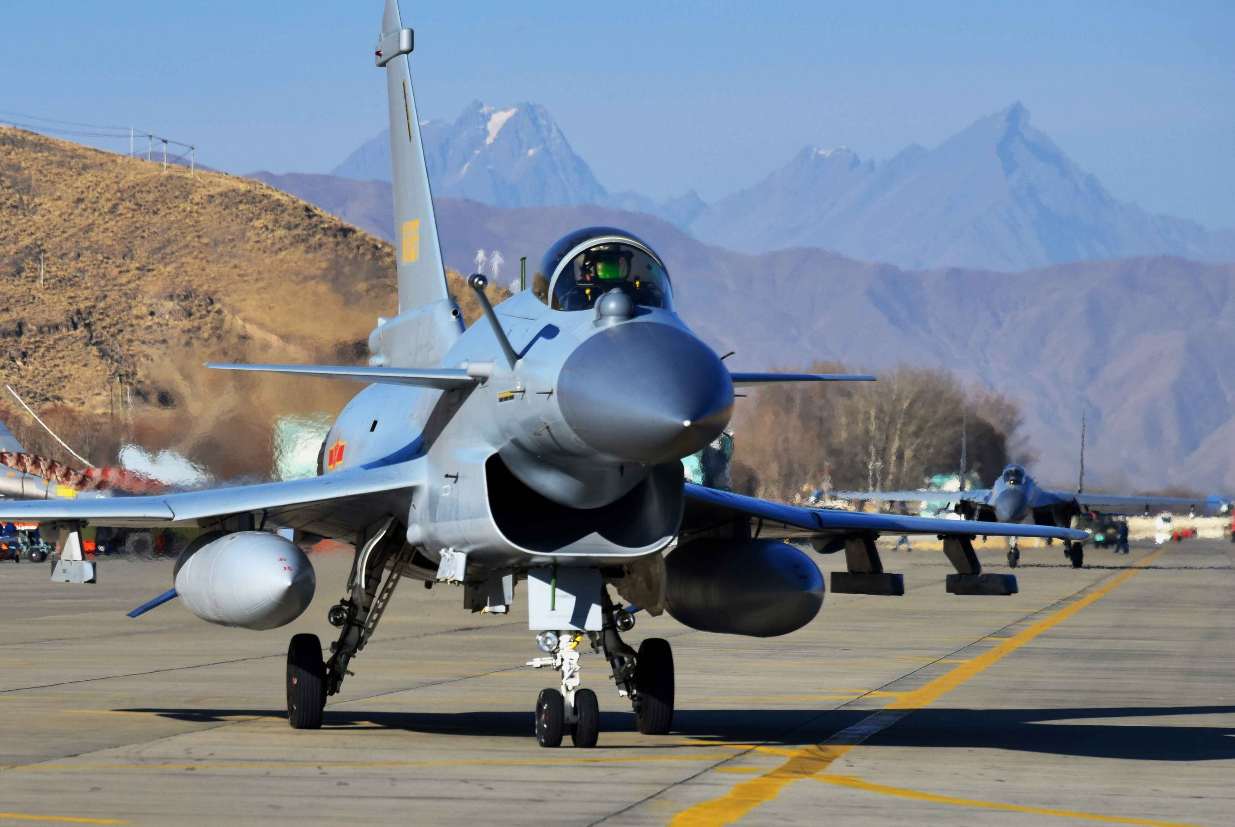 China Shows Off Air Force In Direct Challenge To India