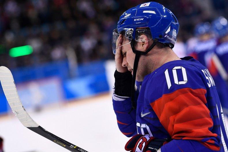hockey south korea loss