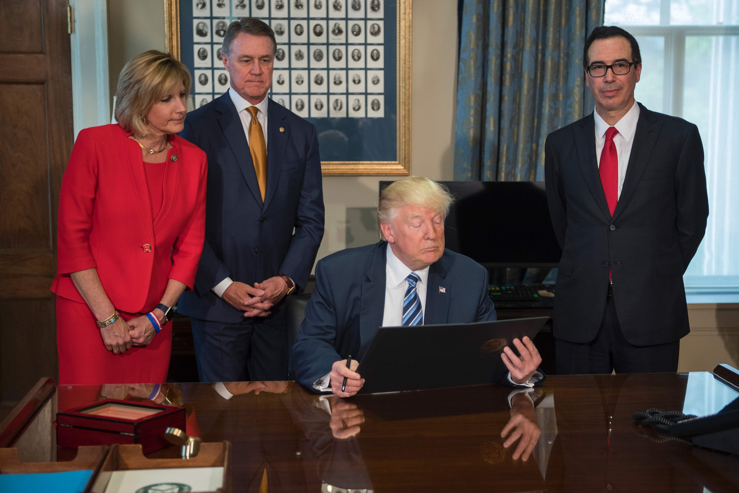 Claudia Tenney with Donald Trump