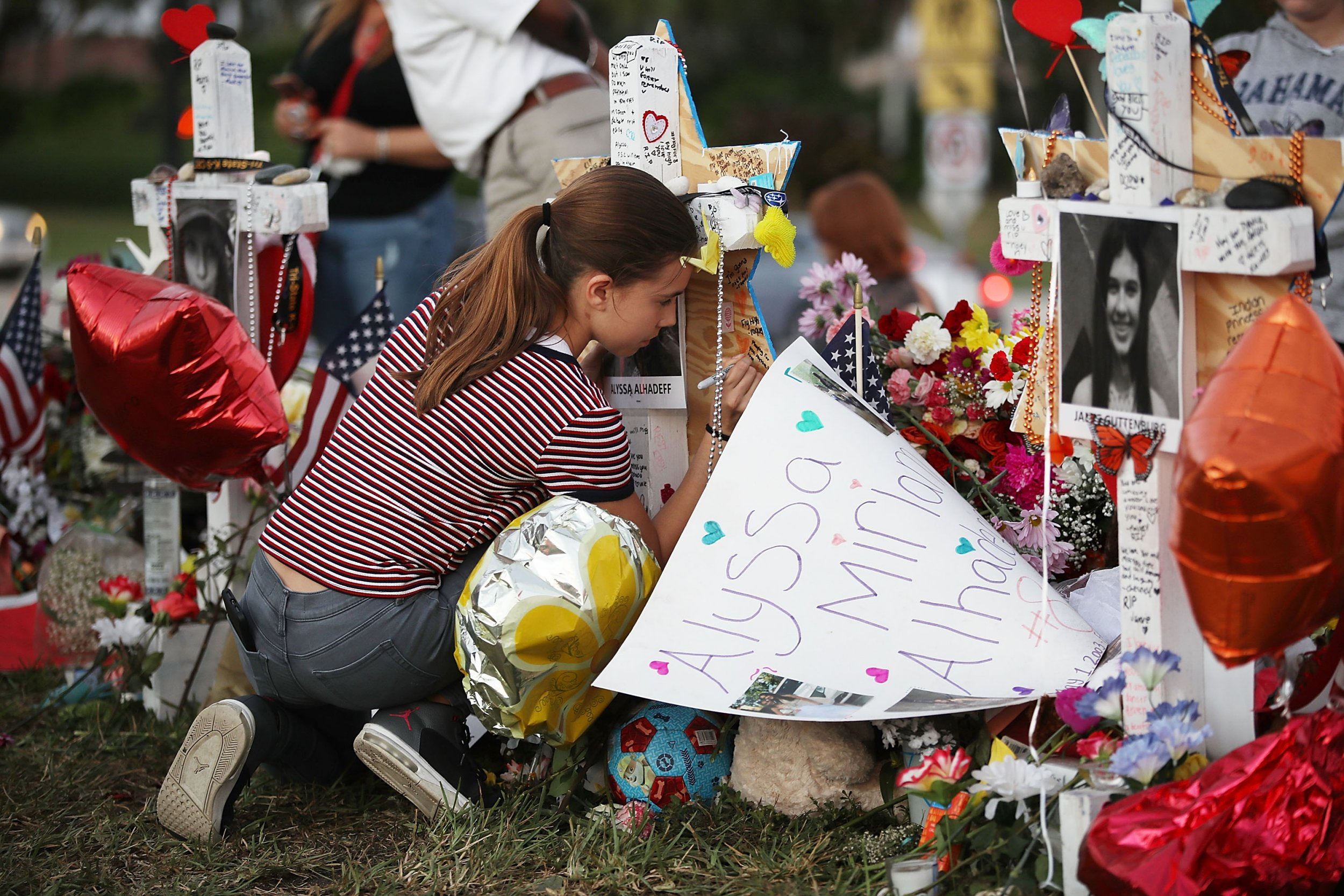 Marjory Stoneman Douglas High School memorial