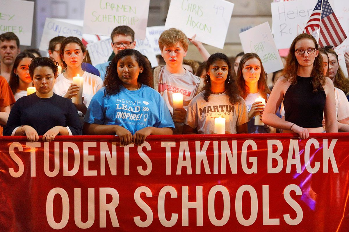Student gun control protests