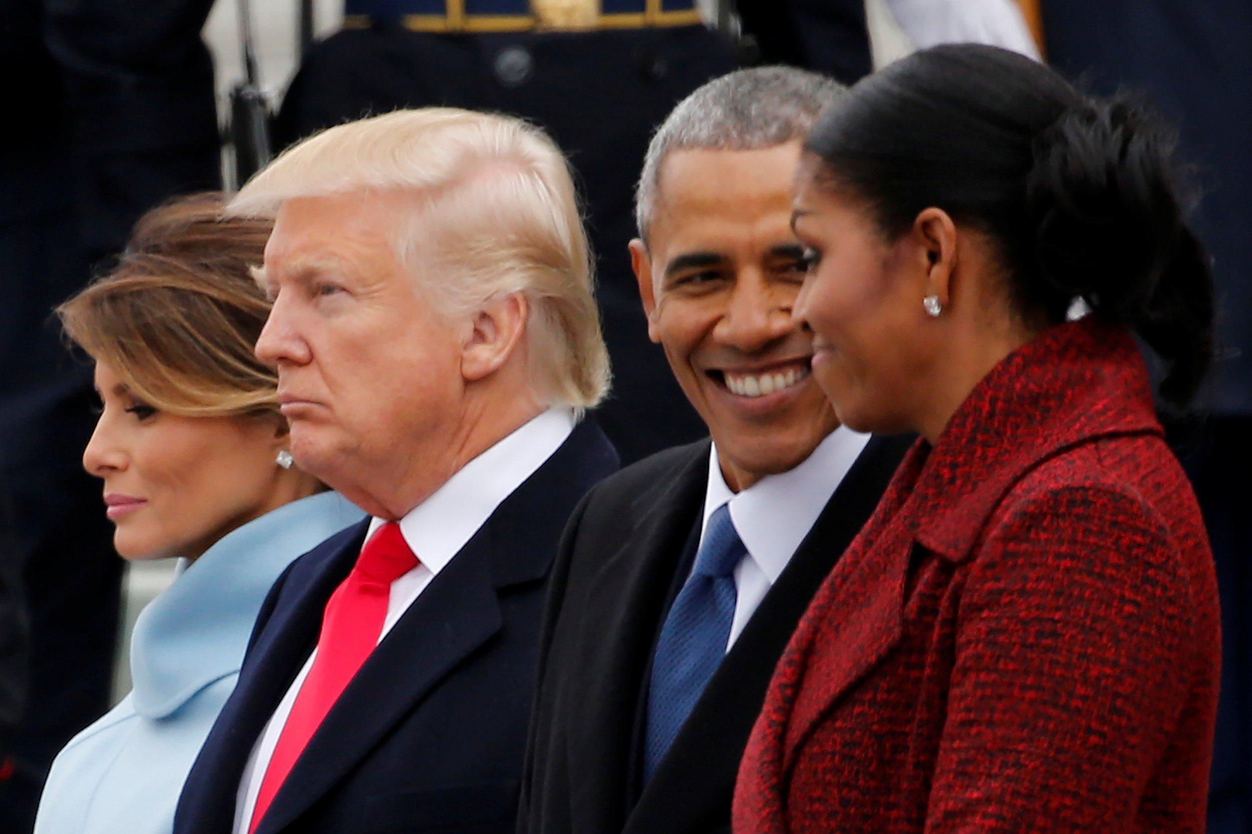 Obamas Trumps