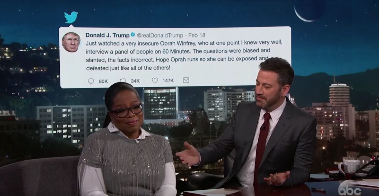 Oprah Winfrey responds to Trump attack