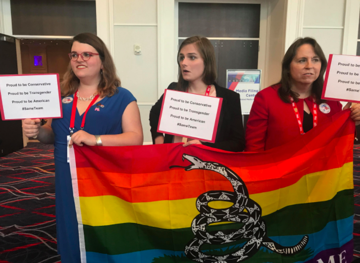 transgender activists at cpac we re conservatives too
