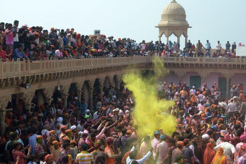 Lathmar Holi Hindu Festival of Color
