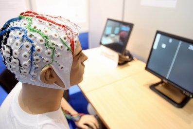 EEG cap mannequin