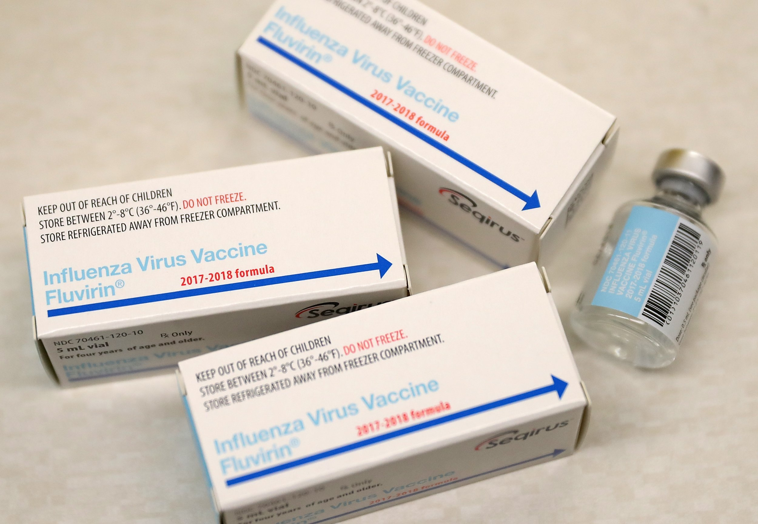 flu shot california three box