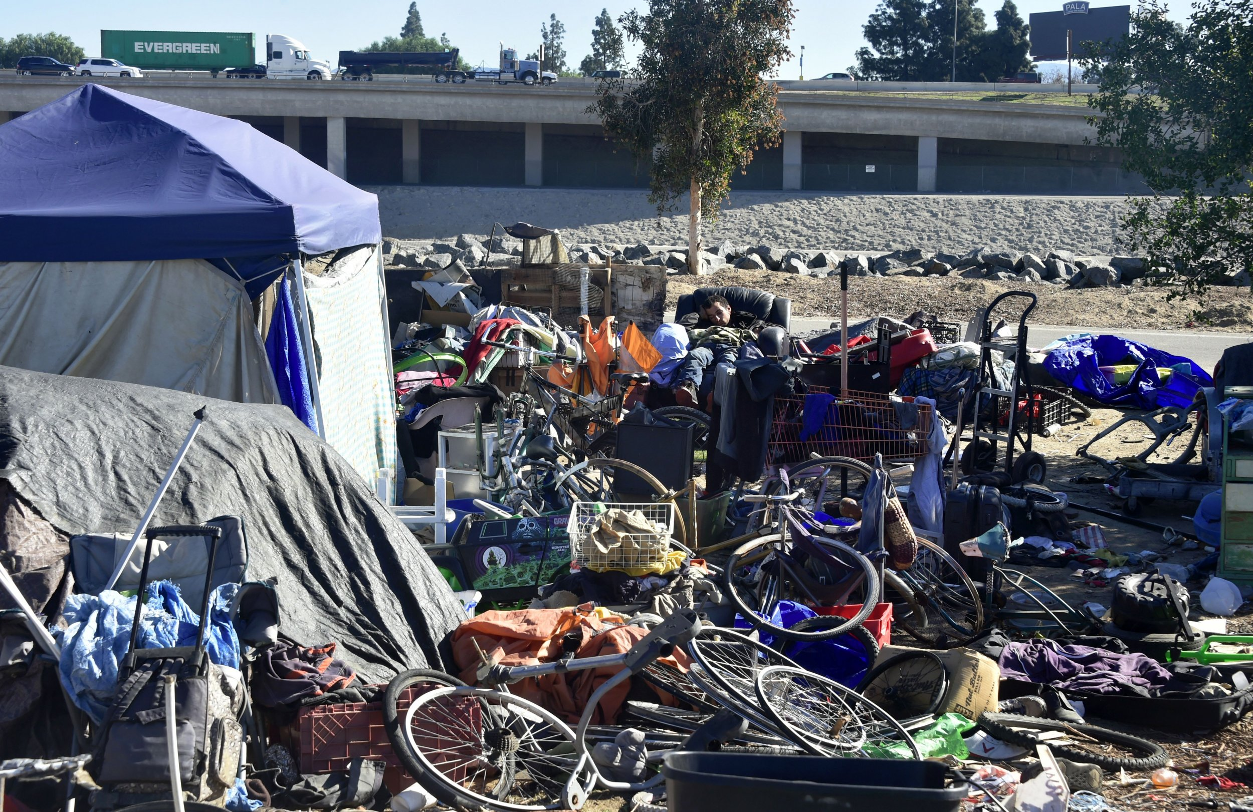 California Homeless Camp Cleanup Finds 250 Tons of Trash ...
