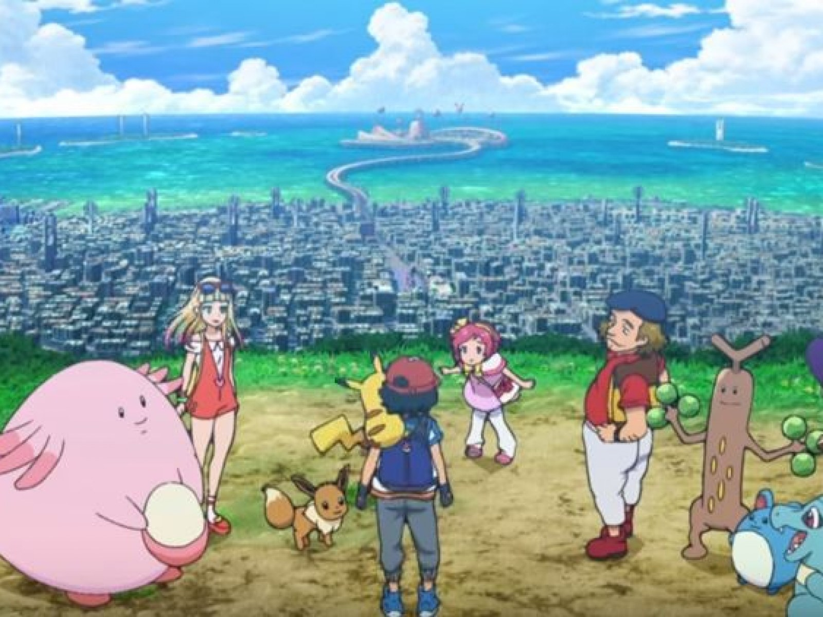 Pokemon The Movie Everyone S Story Trailer Reveals First Look At