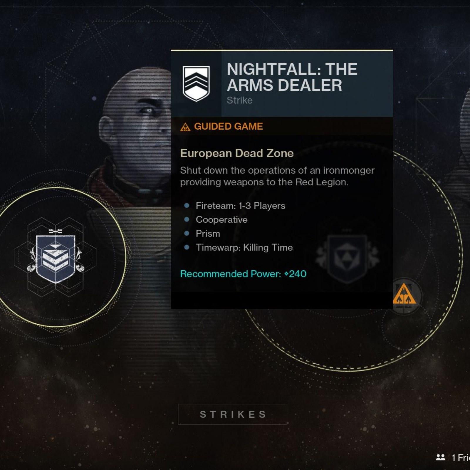 Destiny 2 Update 1 15 (1 1 3) Adds Nightfall Scoring - Patch
