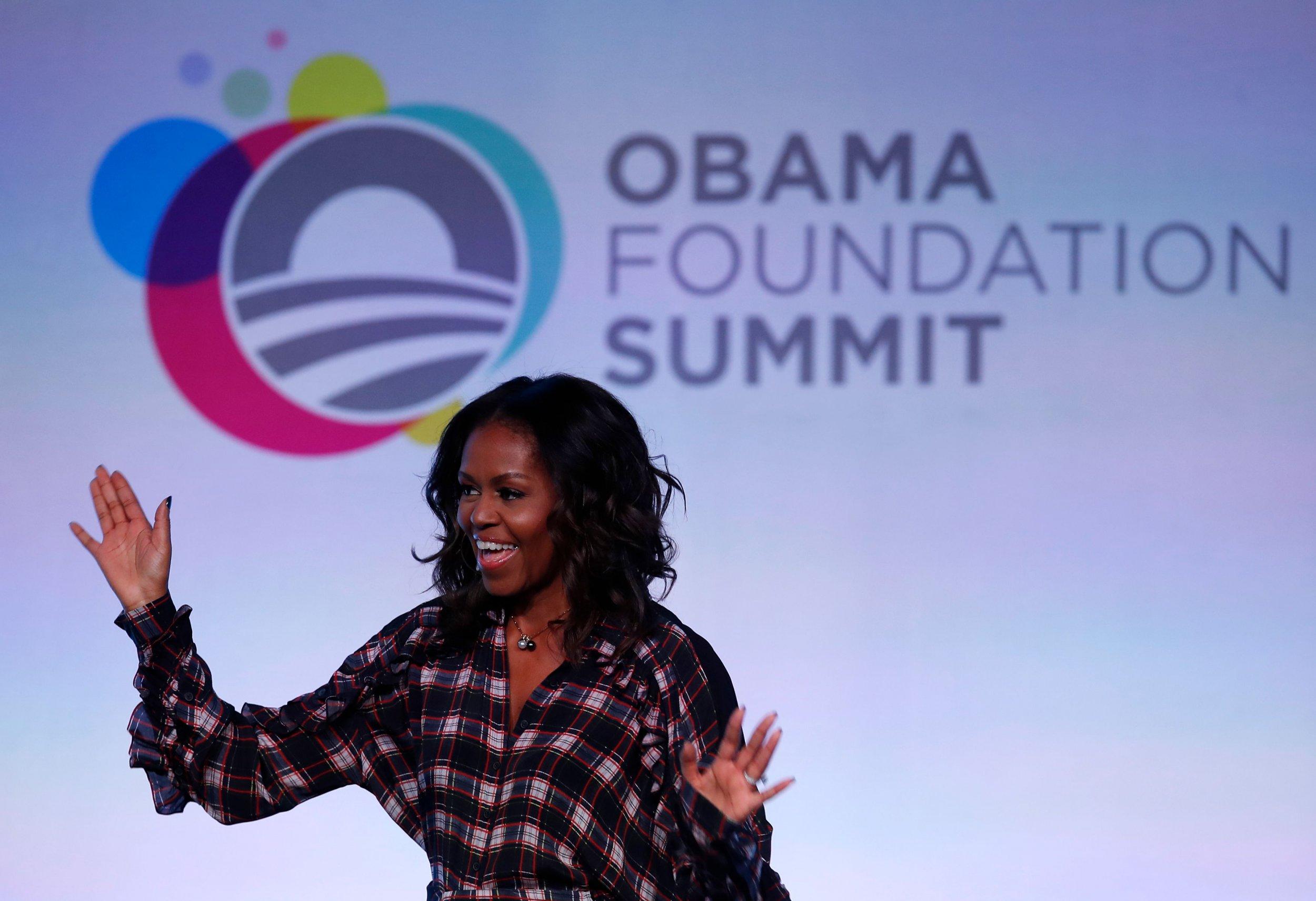 Michelle Obama's Twitter advice