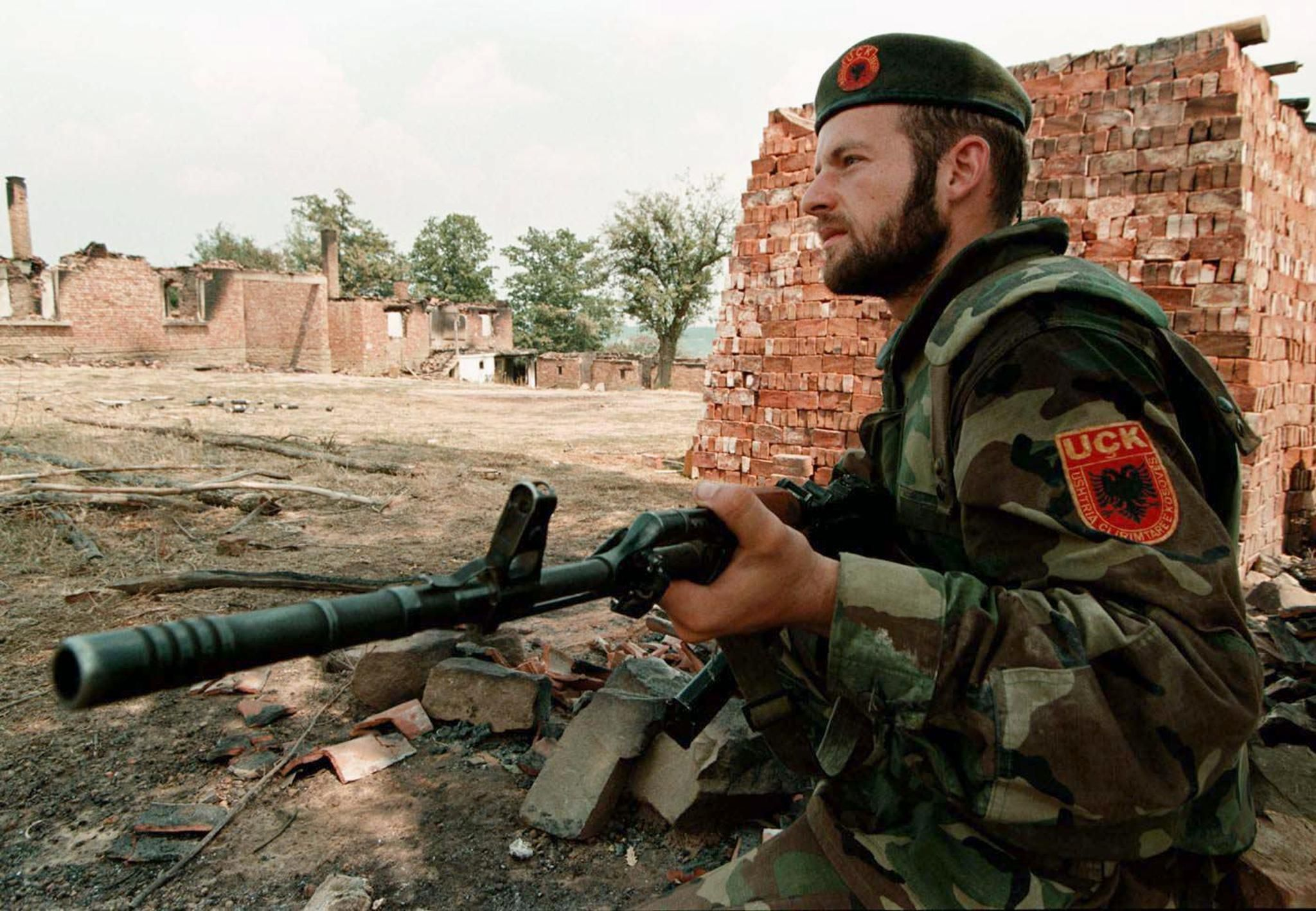 GettyImages-860909944 Kosovo Liberation Army soldier