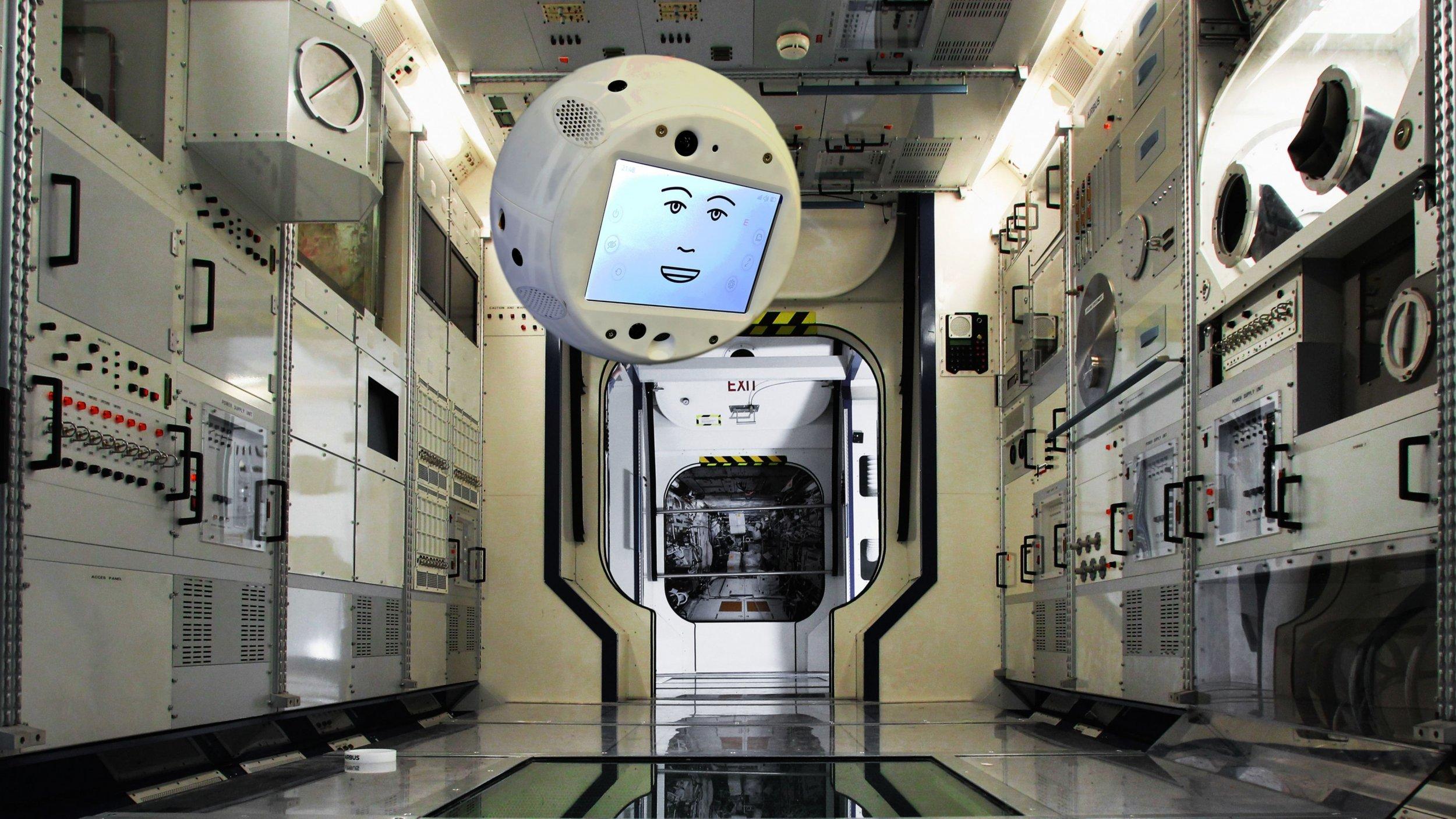 ibm watson ai space ISS CIMON