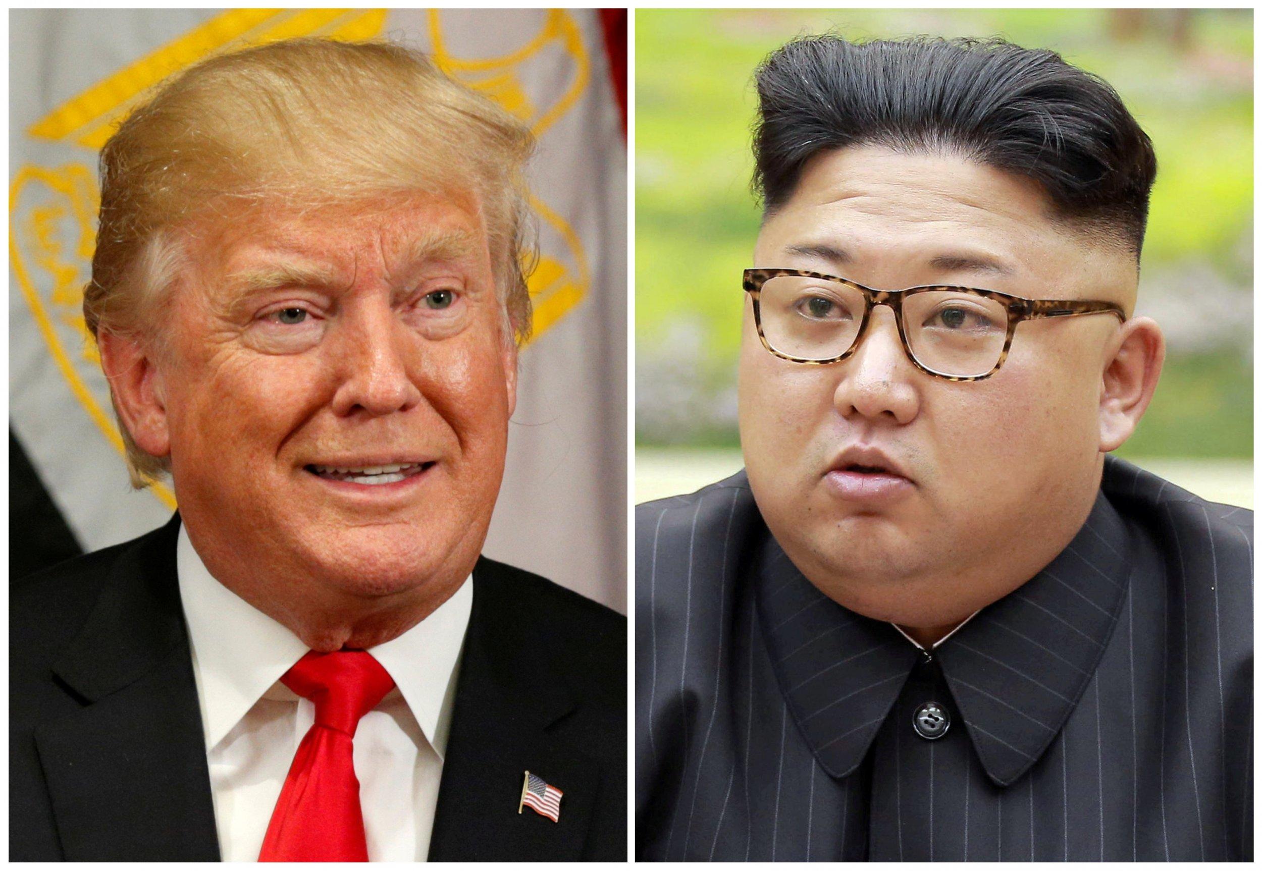 Donald Trump Kim Jong Un