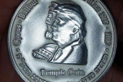 Trumpcoin front side