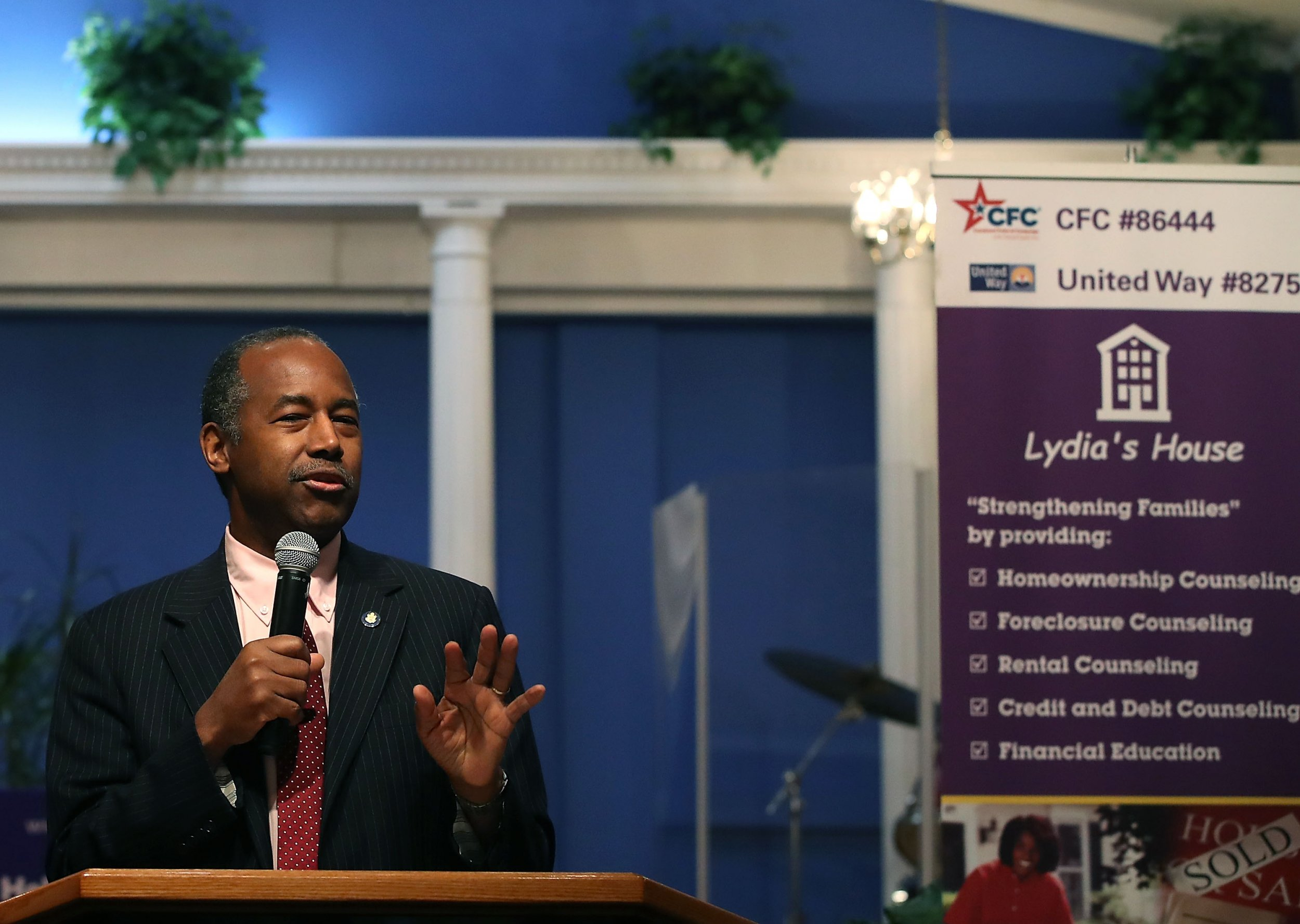 Ben Carson's $31,000 Dining Set Cost More Than 211 HUD Homes for