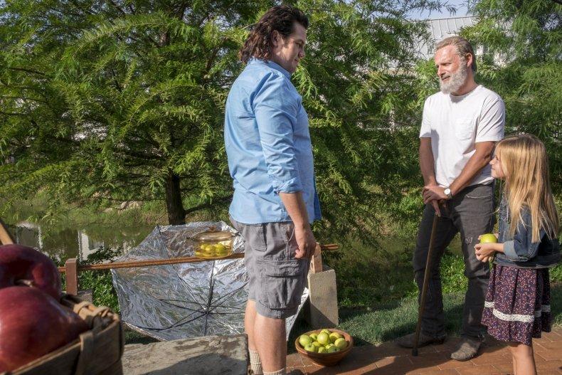 Walking Dead Eugene Rick